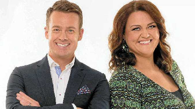 Grant Denyer and Chrissie Swan host The Great Australian Spelling Bee.
