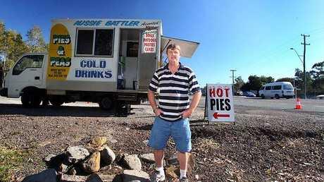 The Aussie Battler Pie Van Photo: Facebook
