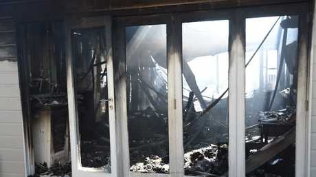 A fire on Kingsley Lane in Byron Bay destroyed the house with one female occupant.