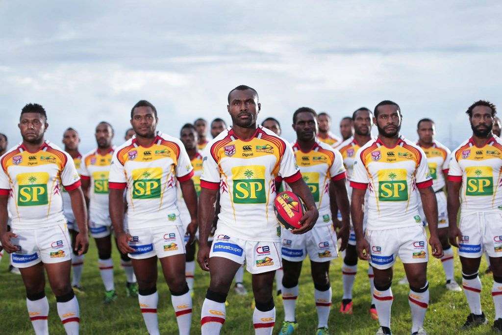 The PNG Hunters are coming to Ipswich to take on the Jets. Photo: Contributed
