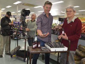 Cameras capture purple foods in Toowoomba