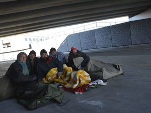 Long days and nights take their toll in homeless challenge