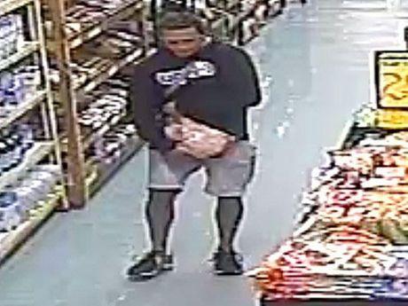 Man caught stealing meat at Betros Bros Toowoomba.