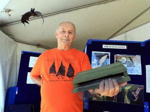 YOUR STORY: Bay's 'Bat Man' shares history of sky mammals