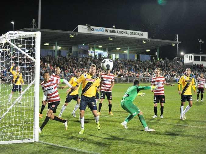 Western Sydney Wanderers v Central Coast Mariners A-League Pre-season match at Coffs C.ex Stadium tonight.