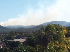 Smoke on horizon prevents risk