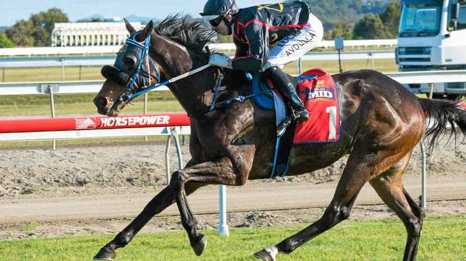 A PROMISE KEPT: Winning the Daniel Baker Memorial Sprint on board Aroused gave jockey Brenton Avdulla the first leg of his feature double.