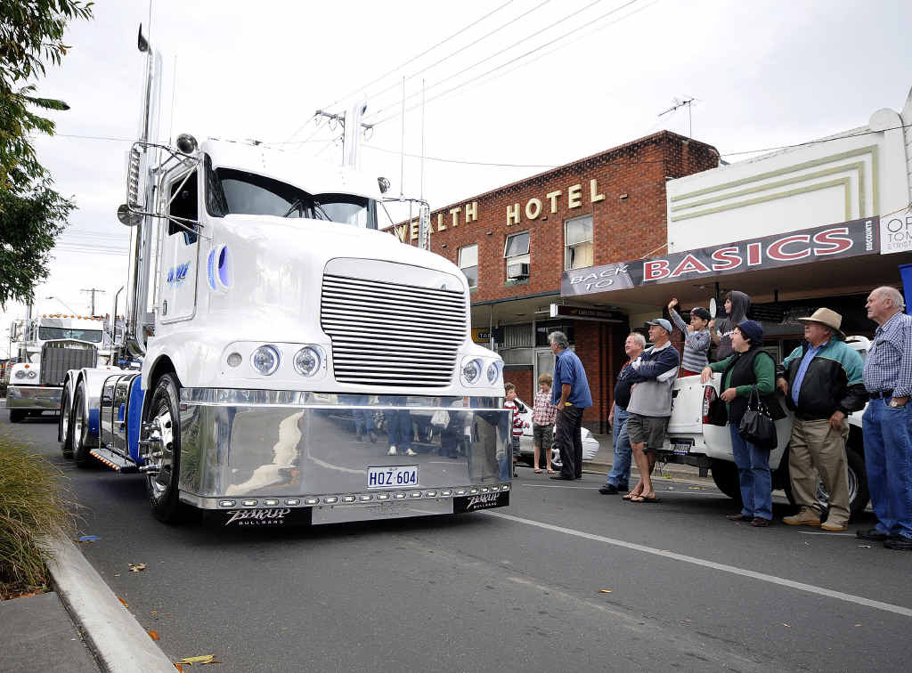 RIGS ON SHOW: Trucks will roll through the streets of Casino for the annual Truck Show today.