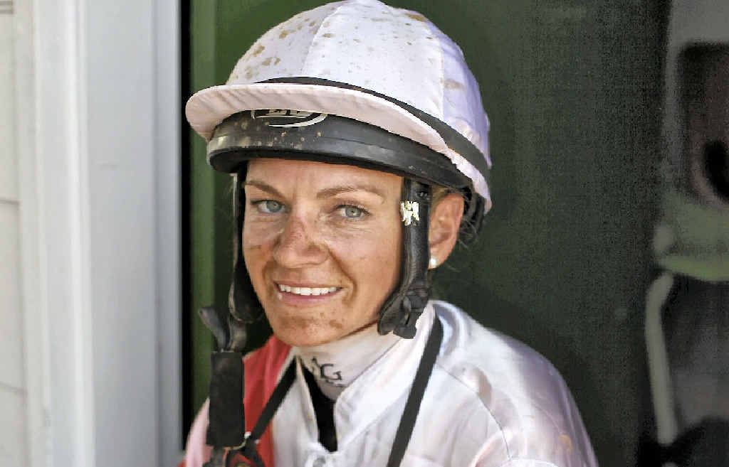 FEATURE: Jockey Tracy O'Hara will be one of seven females riding in the Gladstone Cup on Saturday.