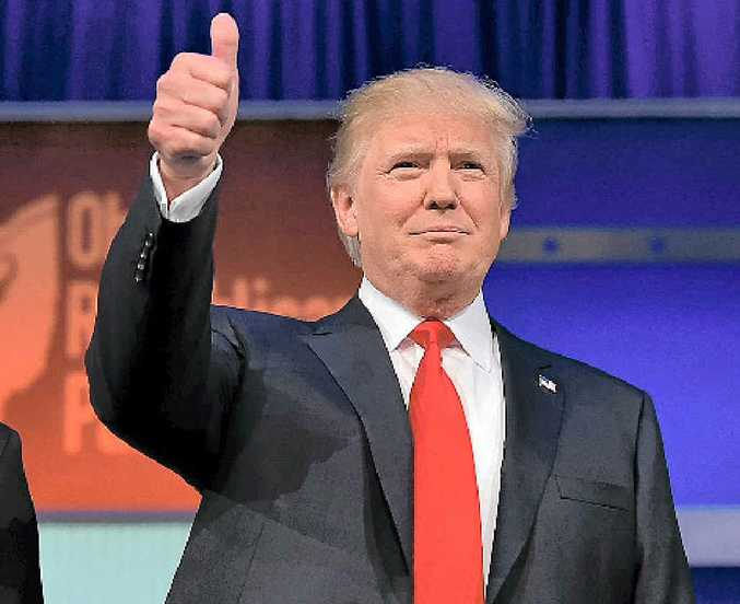 US Presidential candidate Donald Trump