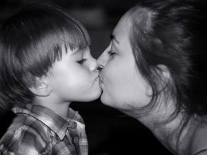 OPINION: what's so wrong with kissing kids on the lips?