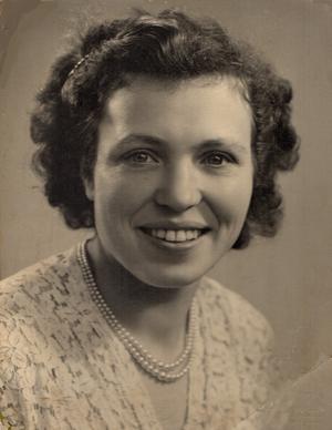Giuditta (Judy) Stocchero-Fluri, pictured in 1949.