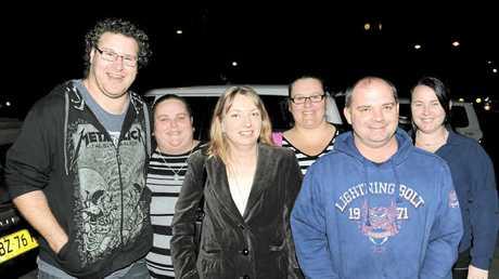 Rob and Toni Johnston, Rebekah Ramsay, Kristy and Wayne Watson and Louise Moore.