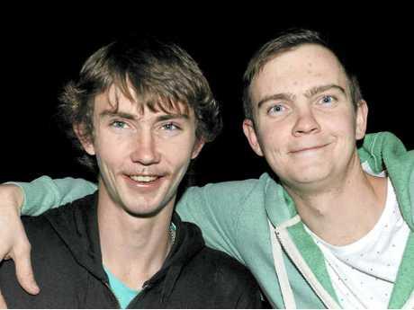 Jake and Brett Jamieson.