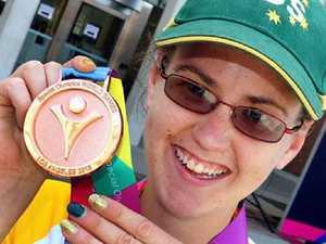 Gympie's Kimberley takes bronze in LA Special Olympics