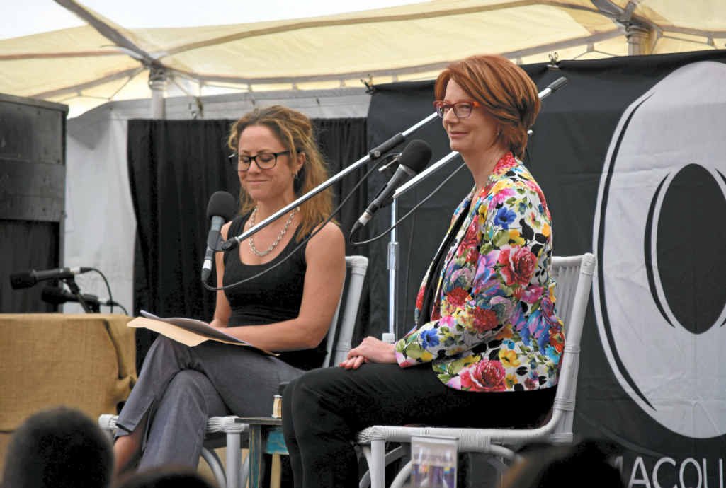 MY STORY: Former Prime Minister Julia Gillard answered questions about our new book 'My Story'.