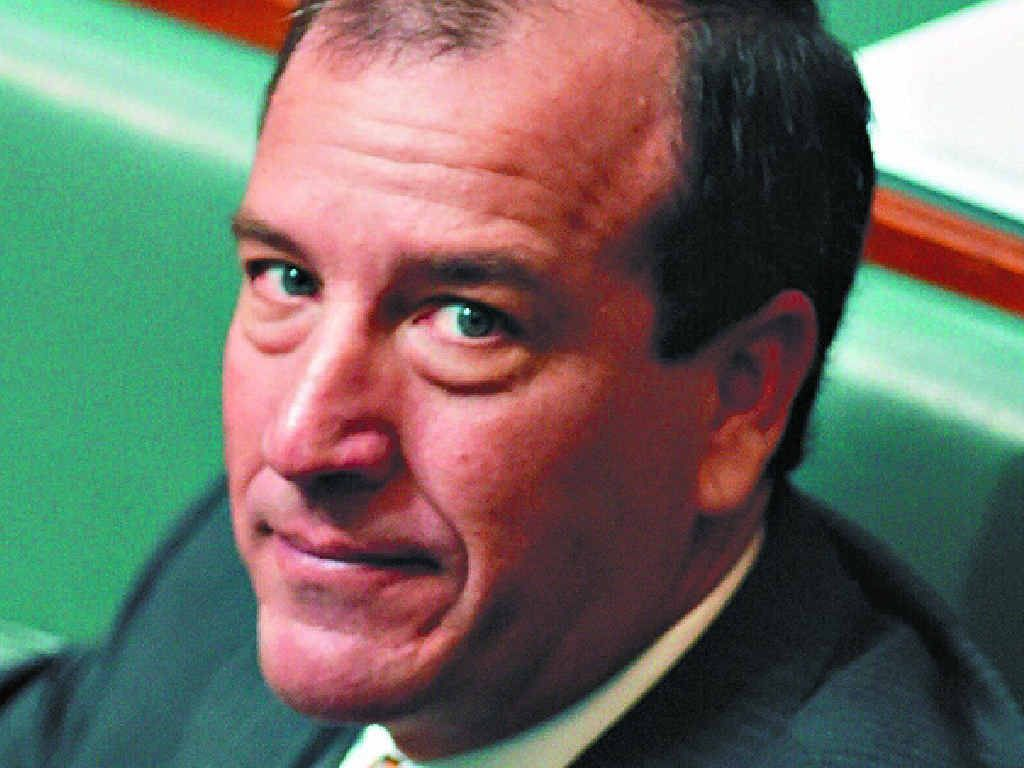HONEST MAL: Sunshine Coast MP, Mal Brough, has posted all his travel expenses on his website for his costituents to see.