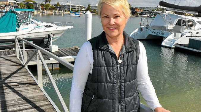 SURVIVOR: Mooloolaba's Wendy Barnes has beaten cancer twice and hopes her story will inspire others to keep fighting.