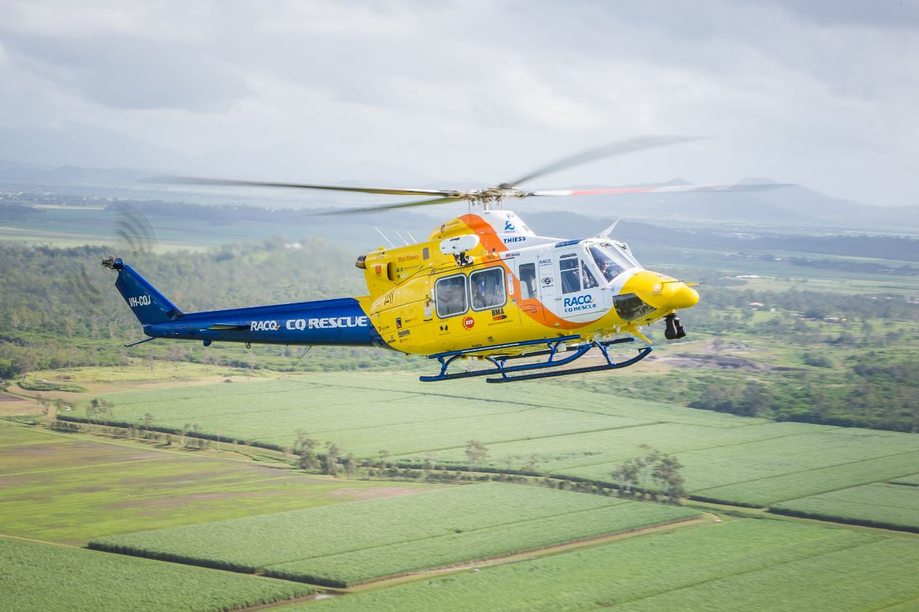 The Bundaberg CareFlight Rescue helicopter has been kept busy with nine missions in the past seven days.
