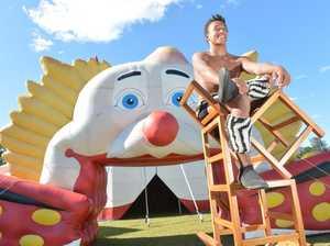 Ashton Circus now showing at Gympie.