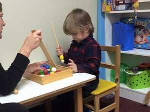 Brave toddler Braxton takes the fight to brain tumour
