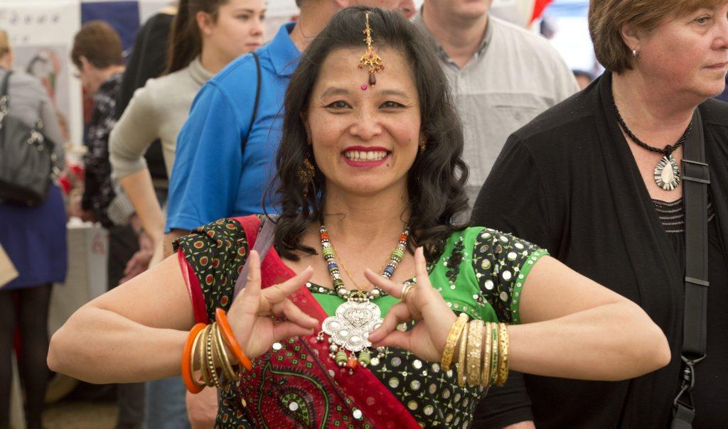 Charmaine Williamson (nee Min-Swe) from Myanmar.