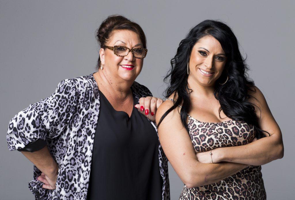 The Hotplate contestants Christina and Tania.