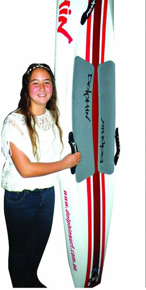 SPECIAL HONOUR: Kiahni Huthnance was named North Coast Branch Junior Life Saver of the Year.