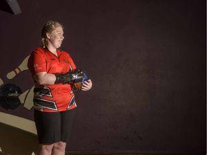 Life in the fast lane for Shanita Clark