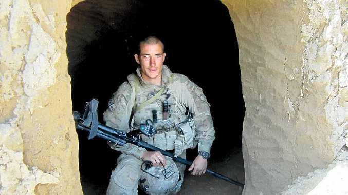 REMEMBERED: Sapper David Wood while on his second tour of Afghanistan in 2012.