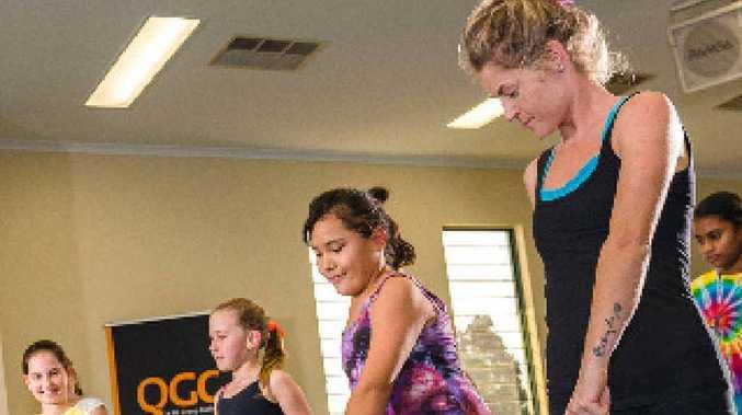 CONNECTING COMMUNITIES: Instructor Tamara Drake leads aspiring hip-hop dancers at a Gladstone Street Dreams workshop.