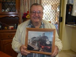 Train driver reminisces re-enactment of 20 years ago