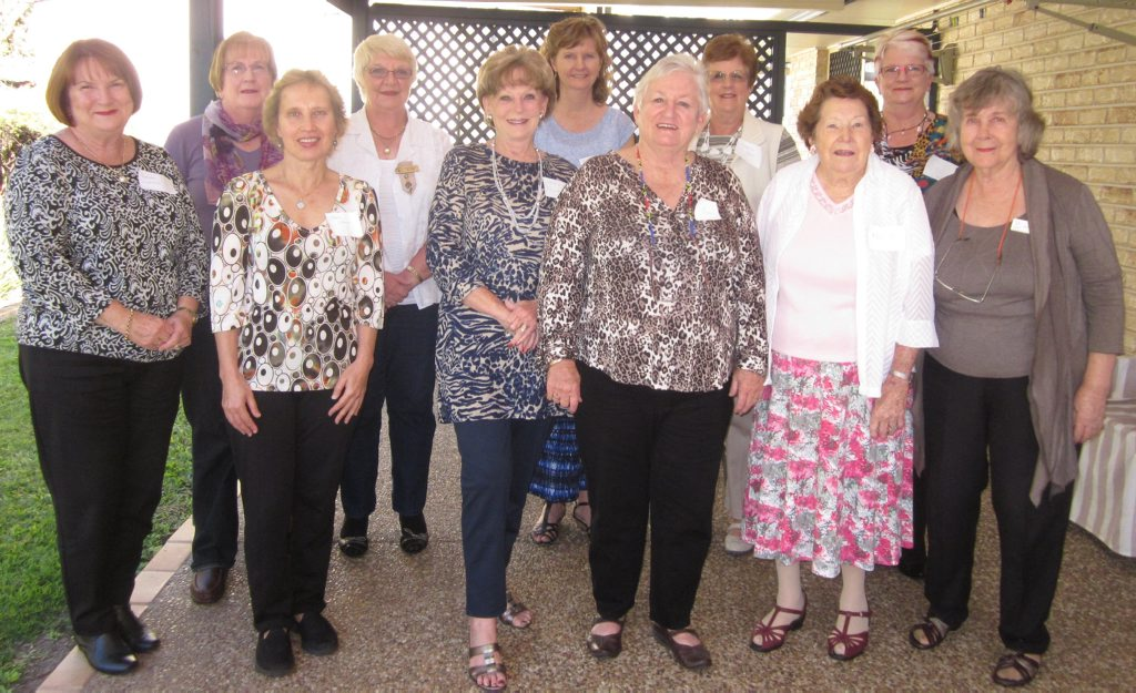 Brendale Evening VIEW Club members enjoy a welcome aternoon tea for new members.