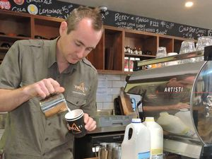 Coffs coffee connoisseur takes on the city slickers