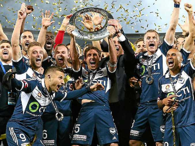 CHAMPS: Melbourne Victory's pre-season campaign ramps up this week with the team arriving in Coffs Harbour for a training camp.