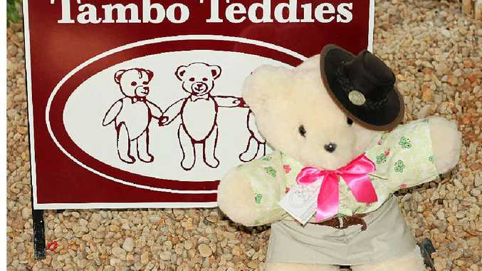 Mrs Stockman, a handmade Tambo Teddy, will be fast-tracked to the royal family for Princess Charlotte.