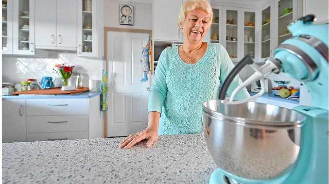 Patricia van Bergen learnt her baking skills from her grandmother.