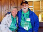 LONG TERM VOLUNTEERS: Sue and Ted McKinnon.