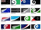 The top 40 flag designs considered to replace New Zealand's current national flag