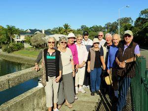 Probus walking group explores Tallebudgera Creek area