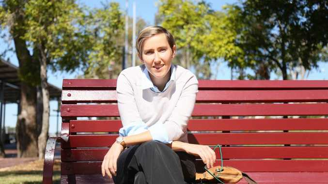 Rebecca Leeks is part of the Committee of Equal Love, and part of the Marriage Equality rally that will hit Rockhampton's streets on Sunday Photo Trinette Stevens / Morning Bulletin