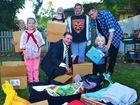 Ipswich's generosity helps family of eight smile again