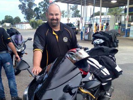 Darling Downs Riders Group member John Watton.