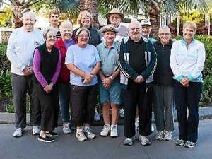 Residents flock to the Seachange walking group