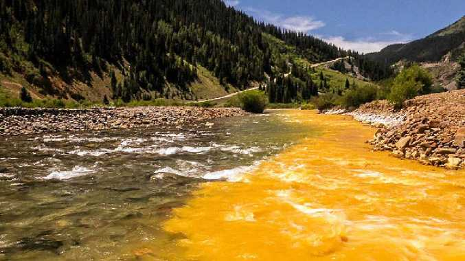 WHOOPS: More than 11 million litres of toxic wastewater has been released into Colorado's Animas and San Juan rivers.