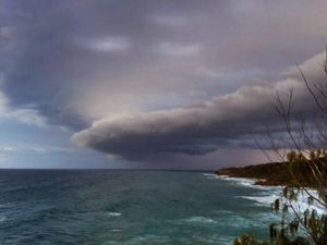 Fast and furious storm hits Sunshine Coast