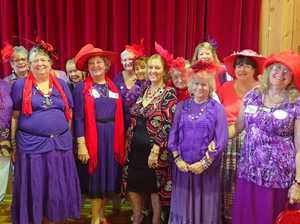 Red Hatters converge on Biggest Morning Tea in Tin Can Bay
