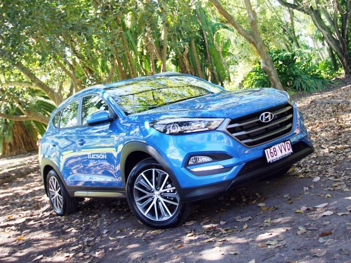 FAMILY ADVENTURE: New Tucson available in petrol or diesel guise, and as a 4WD or 2WD depending on its buyer's planned use.