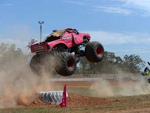 Monster Trucks smash into Bundy