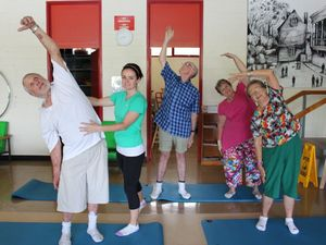 Physio-led pilates class puts clients in right posture